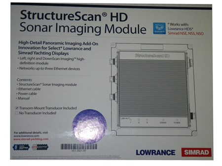 Structure Scan HD Lowrance
