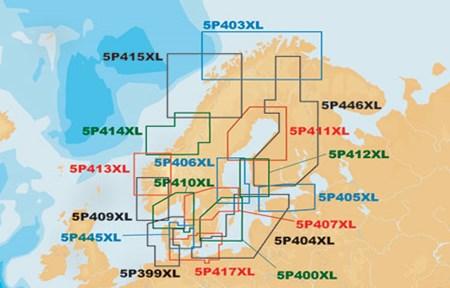 Navionics Platinum +XL 5P411XL