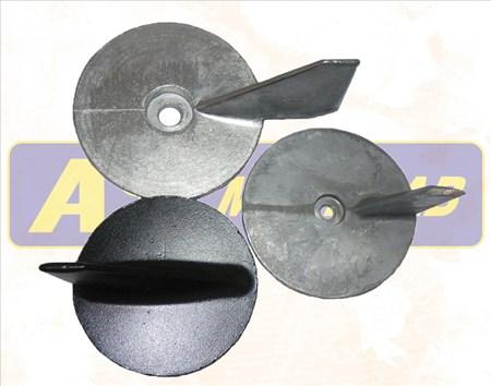 Mercury Anod trim tab 31640A1