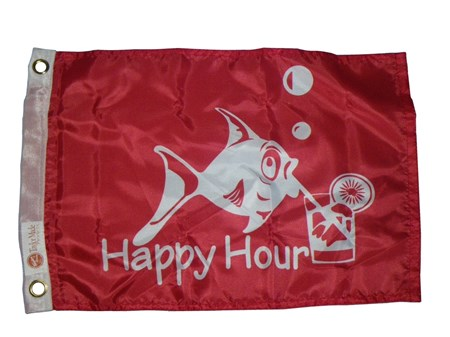 Båtflagga Happy Hour
