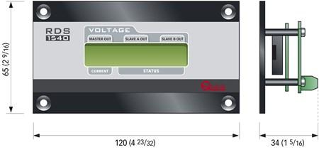 Fjärrpanel Batteriladdare RDS1540