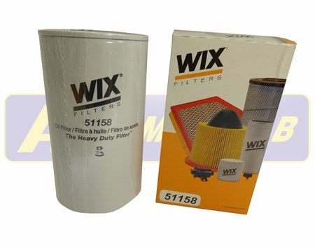 WIX Oljefilter 51158 Volvo