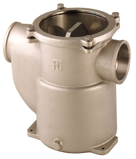 Sjövattenfilter Brons 1