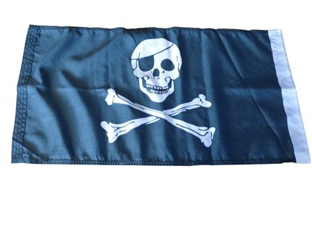 Pirat Båtflagga