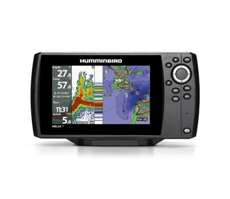 Humminbird Ekolod/GPS Helix-7 Chirp G2 - DEMO