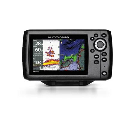 Humminbird Ekolod/GPS Helix-5 Chirp G2