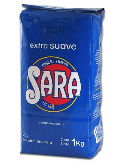 Sara - Blå - Yerba Mate -  1 Kg