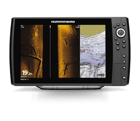 Humminbird Ekolod/GPS Helix-12 MEGA SI Chirp G2N