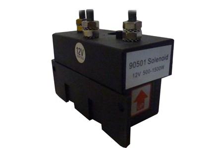 Solenoid 1500W-12V 3-pol