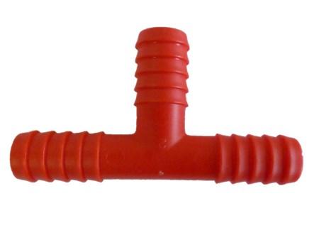 T-Rör Plast 10mm