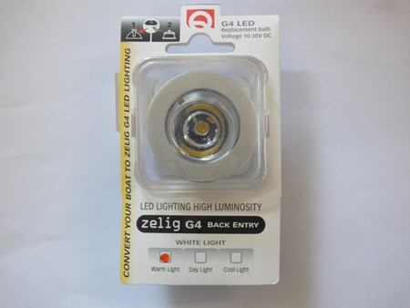 G4 LED lampa 1,5W Varmt Vit