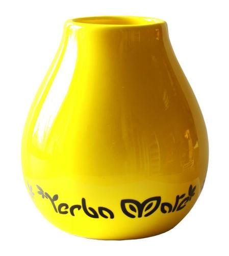 Yerba Mate Kopp - Keramik - Gul - 350 ml