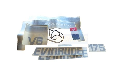 Evinrude/Johnson/OMC Dekalset 0284537
