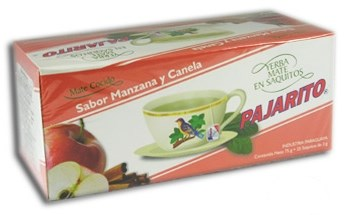 Pajarito Teabags - apple and cinnamon - 75 g