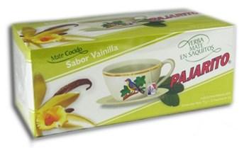 Pajarito teabags -vanilla - 75 g