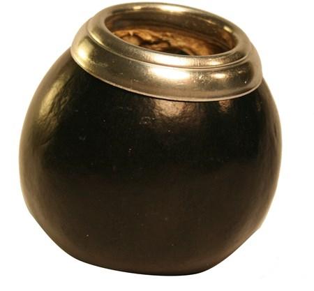 Kalebass -  Svart med ring