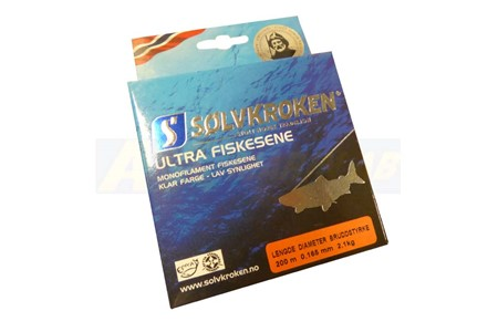 Sölvkroken Ultra Fiskesene 0,165mm 2,1kg 200m