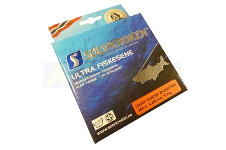 Sölvkroken Ultra Fiskesene 0,255mm 5,3kg 200m
