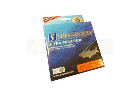 Solvkroken Ultra Fiskesene 0,495mm 18,5kg 200m