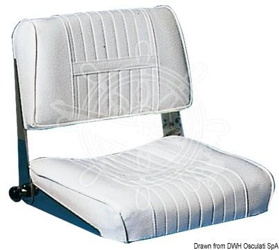 Fällbar Läderstol