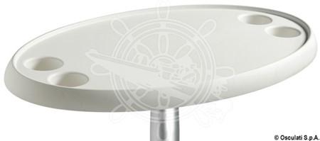 Ovalt Bord 4st hållare