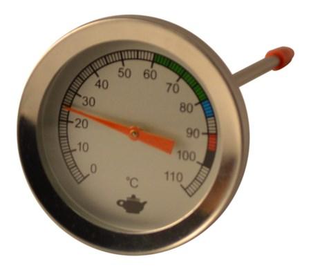 Mekanisk ståltermometer
