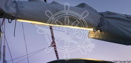 Lampa 10 LED-rail