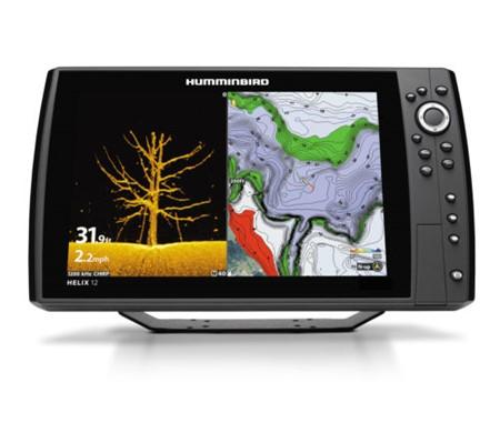 Humminbird Ekolod/GPS Helix-12 MEGA DI Chirp G2N