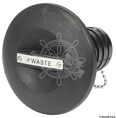 Däckförskruvning Svart Waste