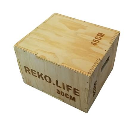 Plywood Jump Box - Crossfit låda 45x40x30