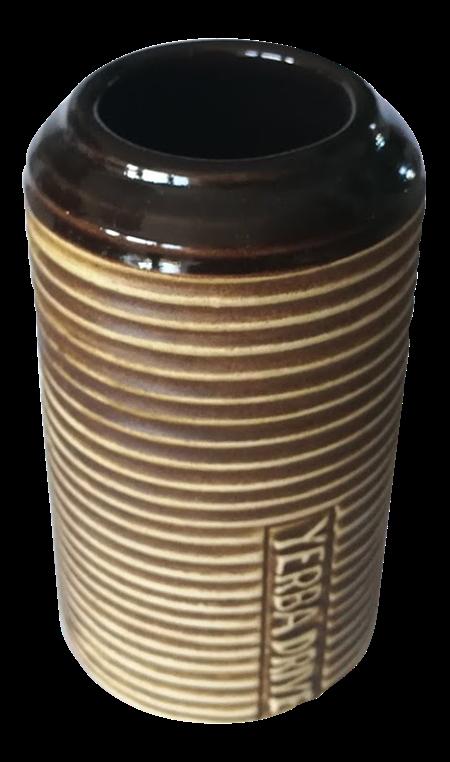 Matekopp i keramik - CylinderRand - 350ml