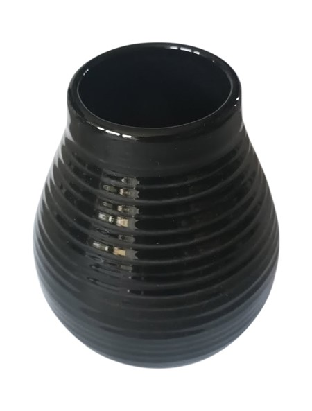 Matekopp i keramik - Svart - 350ml
