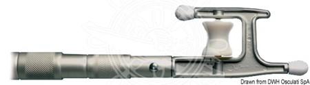 Teleskopisk Båthake Rulle 105x245cm