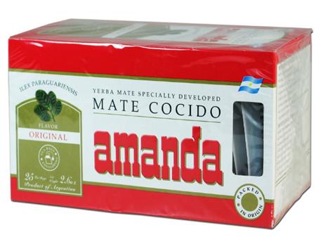 Amanda - 25 tepåsar