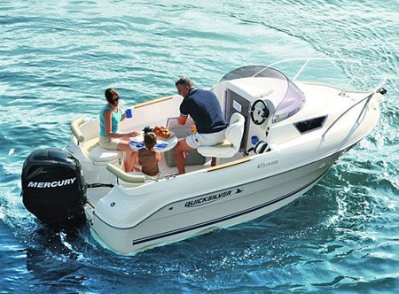 Akterkapell Quicksilver 470 Cruiser