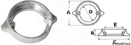 Anod Volvo Penta Duo Prop 290 Ring