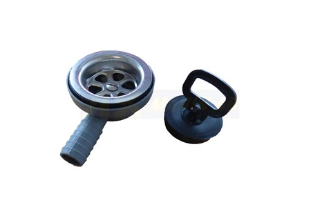 Vinklad Sil 32 mm (25 mm slangnippel)