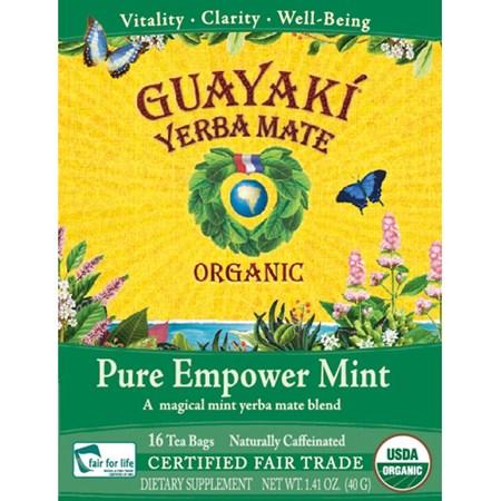 Guayaki - Pure Empower Mint  - 16 tepåsar