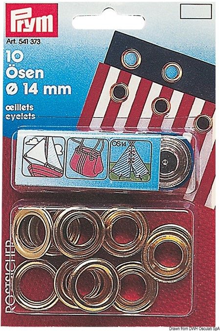 Öljetter 11mm 15p