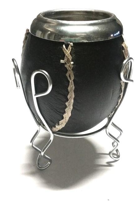 Kalebass - Lädersöm