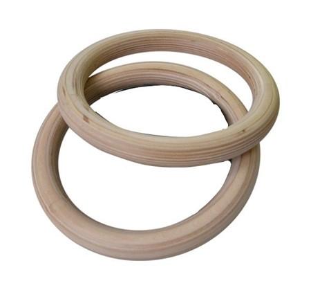 Romerska Ringar i Trä - Endast Ringar