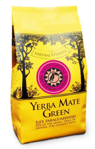 Yerba Mate - Green - ENERGIA GUARANA - 400g
