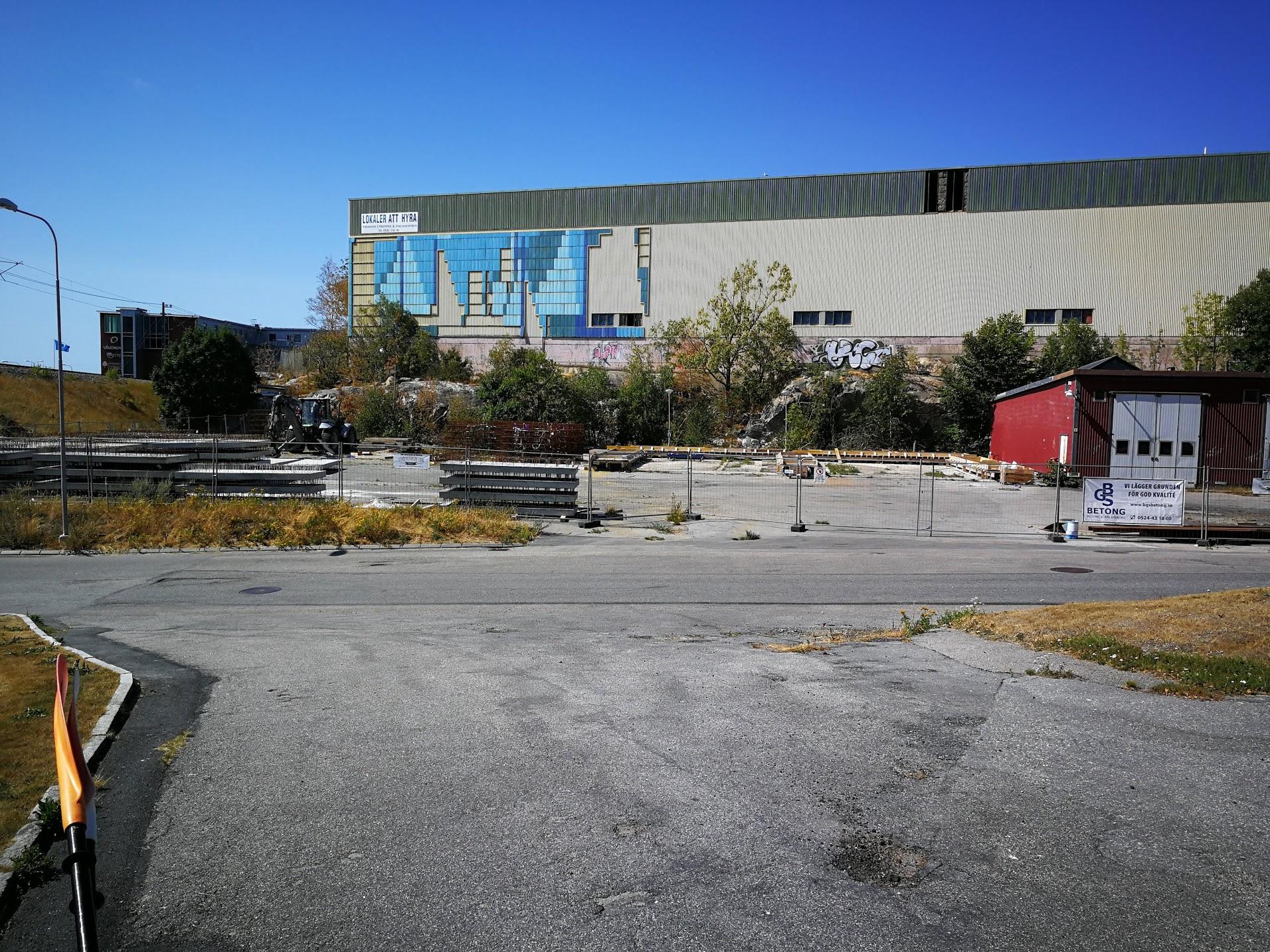 Outnyttjade Parkeringar Stromstad