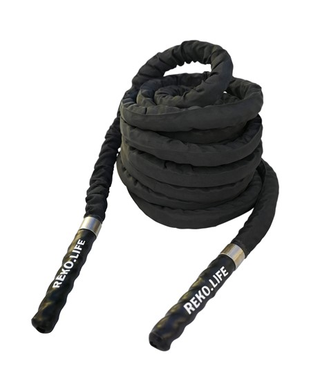 Battle Rope - Crossfit rep med klädsel - 15m - 12.7kg