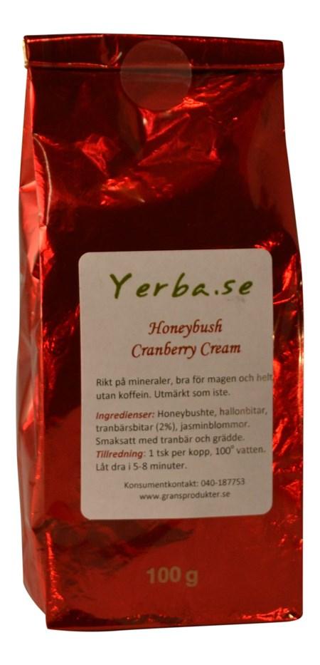 Honeybush - Cranberry Cream - 100gram