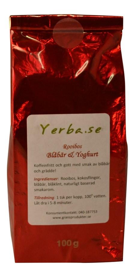 Rooibos - Blåbär och Yoghurt - 100g