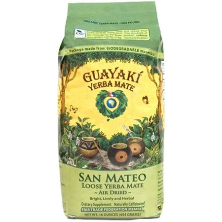 Guayaki San Mateo Air Dried Yerba Mate