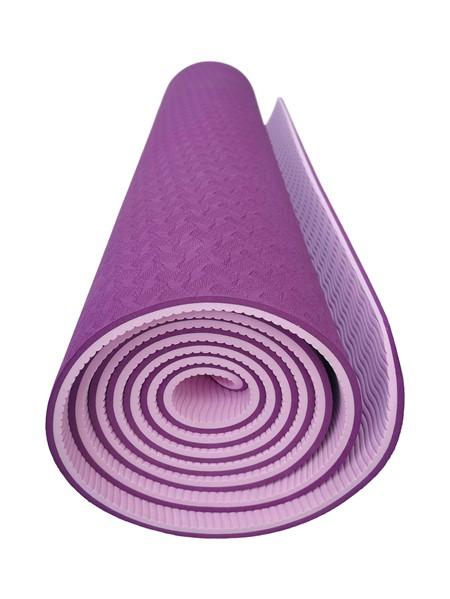 Yoga Matta - TPE - Lila-Rosa- 6 mm