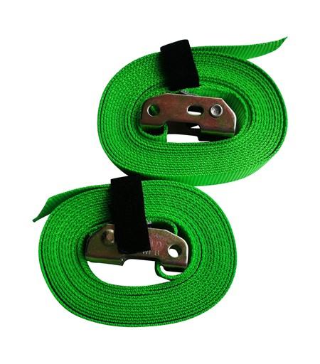 Remmar till Romerska Ringar - Gröna - 4 meter