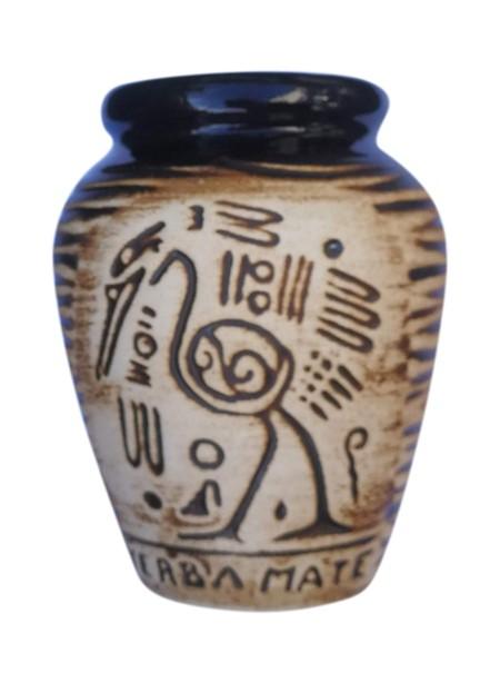 Keramikkopp - Inca - Brun